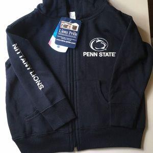 Other - Penn State zip up hooded sweatshirt